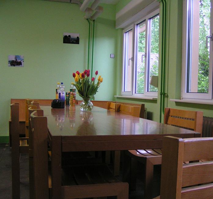 Der Gruppenraum im Anne-Frank-Haus