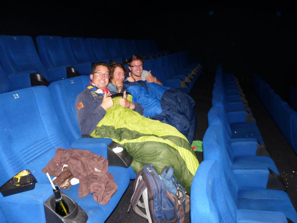 Gute Stimmung im Kino