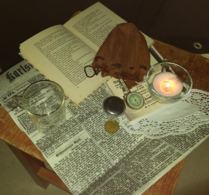 Die rätselhaften Utensilien des verschwundenen Bibliothekars