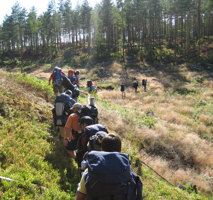 """""""Auf Fahrt"""" in der Wildnis Schwedens"""
