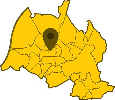Kartenausschnitt Karlsruhe